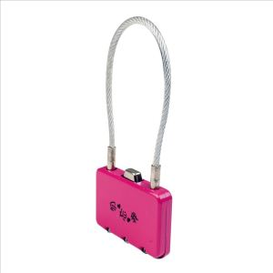 Pink Wire combination lock