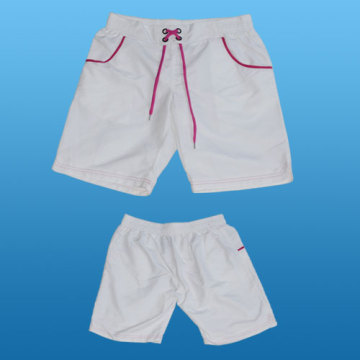 Yj-3018 Womens Girls Ladies White Shorts Short Pants for Women