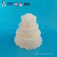 Изысканный Свадебный Торт Свеча Формы