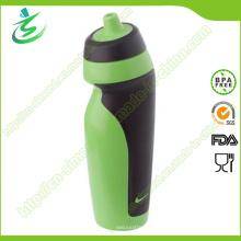 600ml BPA freie faltbare Sport-Wasser-Flasche mit privatem Etikett