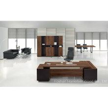 Móveis de mesa executivos executivos de madeira de escritório Office L (HF-TWB111)