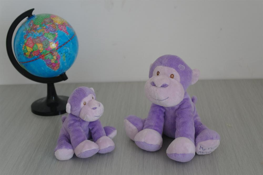 Purple little monkey