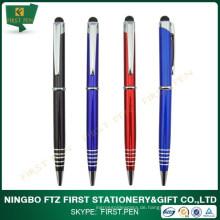 Werbeartikel 2 In 1 Slim Metal Stylus Pen