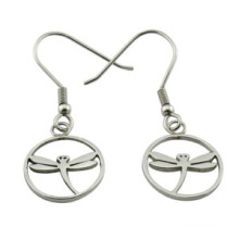 Dragonfly Fashion Earring Bijoux en acier inoxydable