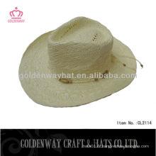 Paille en papier chapeau de cowboy mexicain CL2114