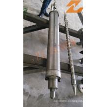 Barril de un solo tornillo para la máquina de moldeo por inyección haitiana