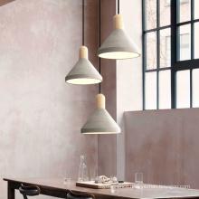 Zhongshan Concrete Pendant Lamp Modern for Home Lighting Indoor Living Room Deco
