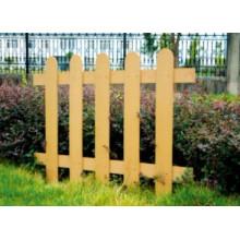 1000 * 800 2014 Eco-Friendly Venda quente de madeira ao ar livre de plástico composto WPC Fence (CKW-DD2401)