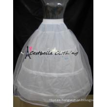3 Aros Enaguas Vestido de Bola Ajustable Tallas Crinolina Accesorios Nupciales Acorchados para Boda / Baile / Vestido Quinceanera