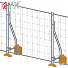 Temporary Swimming Pool Fence Galvanized Crowd Control Barrier Fence