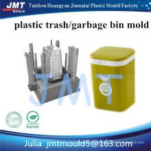 Haushaltsgebrauch Plastikfarbiger überschüssiger Behälter; Rose Red Mülleimer