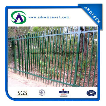 China Manufacturer Tubular Steel Fencing Prices for Wholesales