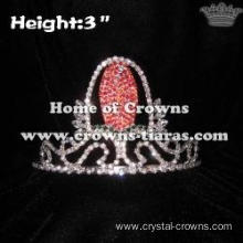 3inch Corn Crystal Pageant Crowns