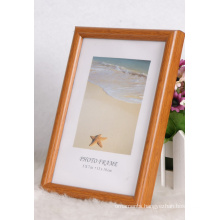 Plastic Frame with Wooden Grain (M-BD5070)