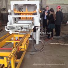 Hot Sale In South Africa QT4-20 Semi Automatic Brick Making Machine