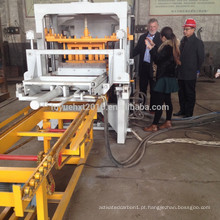 Venda quente na África do Sul QT4-20 Máquina de fabricação de tijolos semi-automática