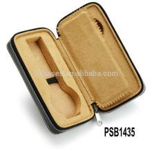 boîtes de montre en cuir de haute qualité pour 2 montres en gros fabricant, Chine