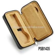 высокое качество кожи смотреть коробки для 2 часы Оптовая из Китая Пзготовителей