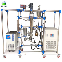 New vacuum molecular distillation extraction machine