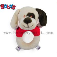 """6 """"Plüsch gefüllte weiche Hund Handbell Spielzeug für Säugling"""
