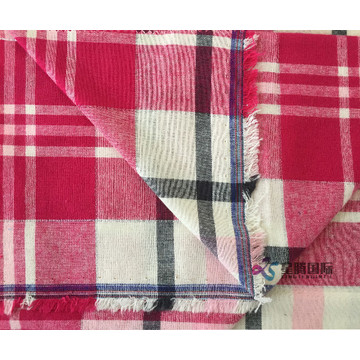 Soft 100% Cotton Flannel Cotton Plaid Breathable
