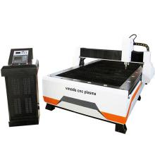 Máquina de plasma CNC 1530 placa de acero suave