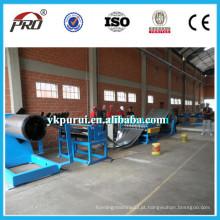 Linha de produção de corte de bobina de aço automática / linha de máquina de corte de bobina de aço