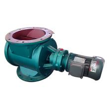Válvula de descarga rotativa airlock sob coletor de pó