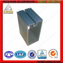 Profils en aluminium pour rideau mur