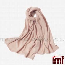 100% женский 100% чистый кашемир Супер зимний теплый мягкий вязаный шарф