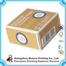 Cajas de jabón de embalaje hecho a mano barato personalizado impresión