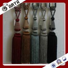 Handgefertigte und Maschinenvorhang Tassel Tiebacks für Vorhänge Dekoration, Vorhang Zubehör