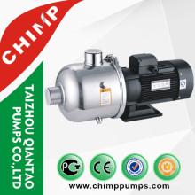 Pompe à eau centrifuge monophasée / triphasée en acier inoxydable