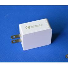 Cargador de viaje QC3.0 Adaptador de cargador de pared USB EU / Us Plug
