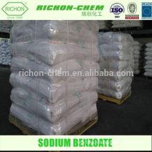 SEL DE SODIUM Cas n ° 532-32-1 Utilisation d'agents auxiliaires et agent auxiliaire chimique ACIDE BENZOIQUE