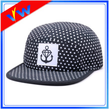 100% Polyester Printing 5 Panel Hat