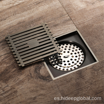 HIDEEP Bathroom Antique latón Shower Floor Drain