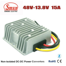 Waterproof 48VDC to 13.8VDC 15A 207W DC DC Buck Converter