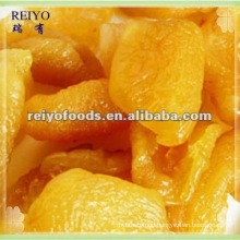 dried yellow peach halves