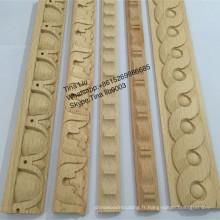 moulures en bois massif moulures décoratives en bois de hêtre sculpté