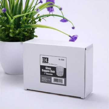 white printed carton box