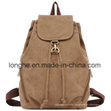 Fashion Leisure Travel Canvas Backpack (LY0007#)