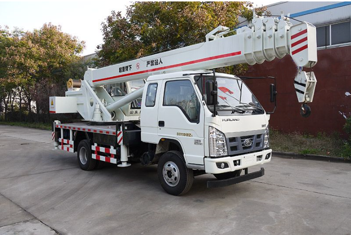 All-terrain Truck with Crane