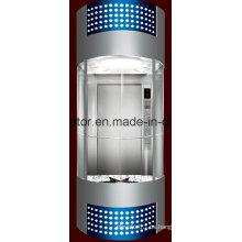 Profesión y cómodo ascensor panorámico (JQ-A035 (A))