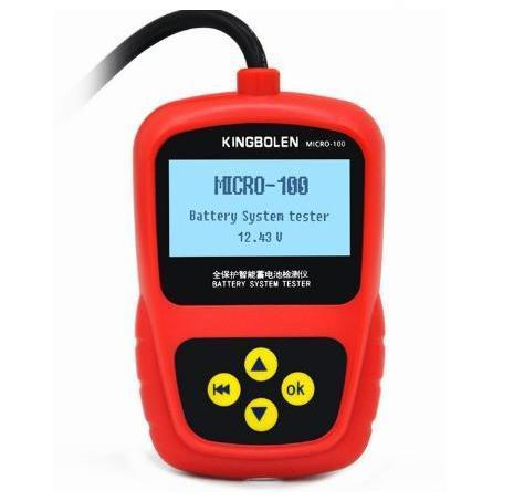 battery tester digital screen