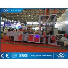 Machine de fabrication de sacs à grande vitesse automatique à grande vitesse (BTHQ-450X2)