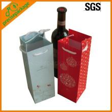 wiederverwendbare heißer Verkauf Baumwolle Seil Papier Wein Flasche Taschen billig