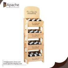 Factory Free sample for Wine Display Rack High Quality Shop Wine display rack supply to El Salvador Exporter