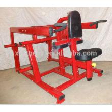 Equipo de gimnasia / Equipo de gimnasia Seated Dip cargado con placa