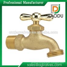 Hose Bibb Male Thread and Solder Brass 1/2-Inch